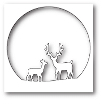 Memory Box - Die - Deer Family Circle