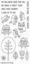 My Favorite Things - Clear Stamp - Tweet Wishes