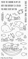 My Favorite Things - Clear Stamp - Soak up the Fun
