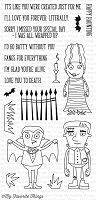 My Favorite Things - Clear Stamp - Frightful Friends