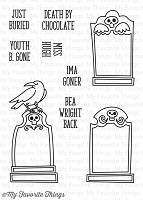 My Favorite Things - Clear Stamp - Grave Situation