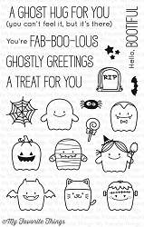 My Favorite Things - Clear Stamp - BB Fab-BOO-lous Friends