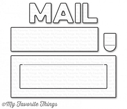 My Favorite Things - Die-namics - Mail Delivery