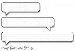 My Favorite Things - Die-namics - Essential Speech Bubbles