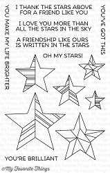 My Favorite Things - Clear Stamp - LJD Stars Above