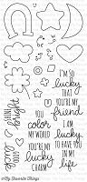 My Favorite Things - Clear Stamp - Lucky