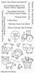 My Favorite Things - Clear Stamp - Farm Friends