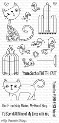 My Favorite Things - Clear Stamp - Purr-fect Friends