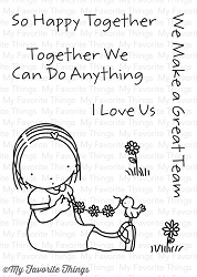 My Favorite Things - Clear Stamp - Pure Innocense Happy Together