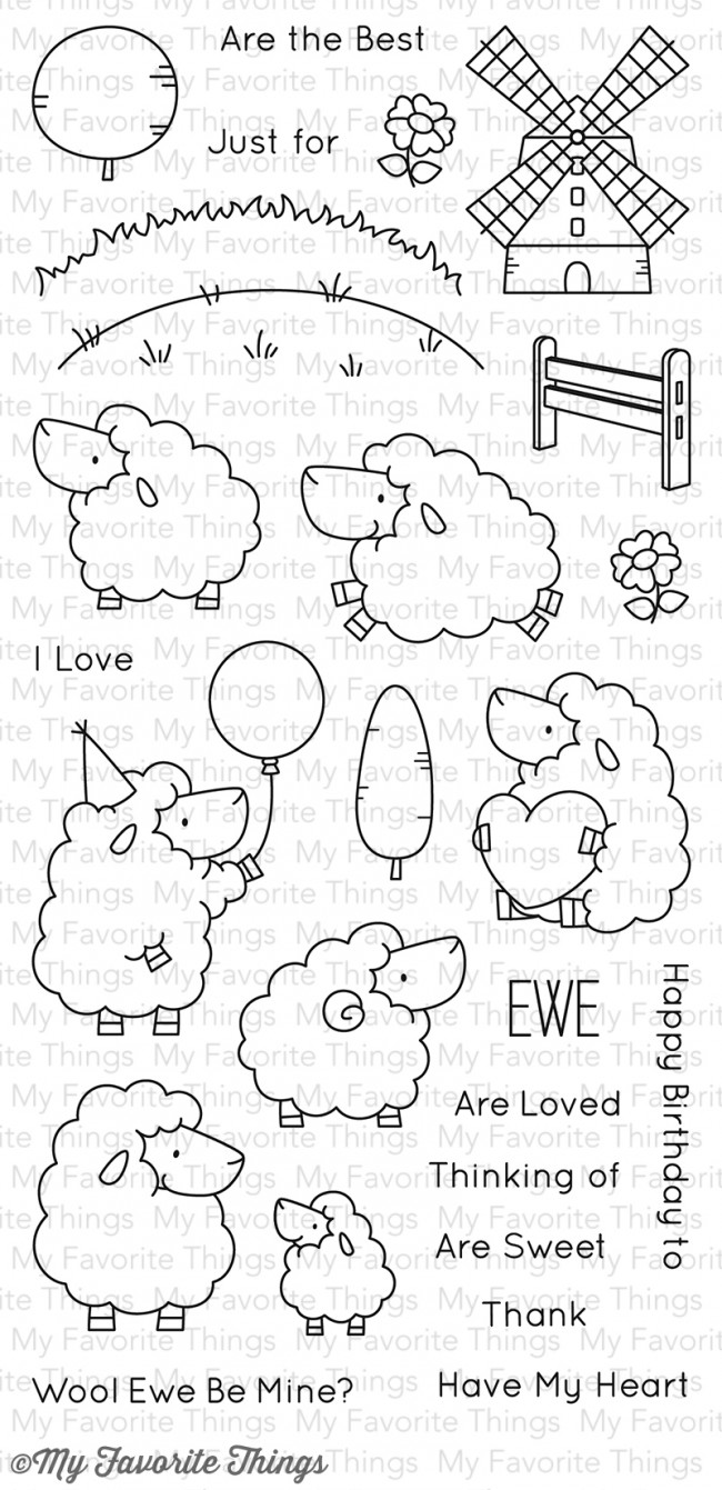 My Favorite Things Clear Stamp Bb Ewe Are The Best
