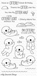 My Favorite Things - Clear Stamp - BB Otterly Love You