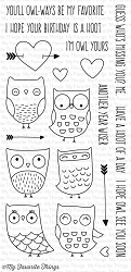 My Favorite Things - Clear Stamp - I'm Owl Yours
