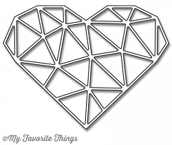 My Favorite Things - Die-namics - Abstract Heart