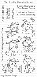My Favorite Things - Clear Stamp - Puppy Pals