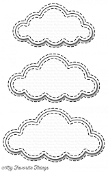 My Favorite Things - Die-namics - Stitched Clouds