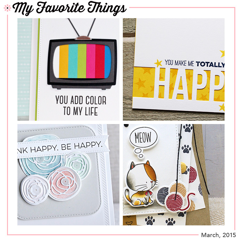 My Favorite Things - new stamps, dies and stencils