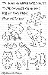 My Favorite Things - Clear Stamp - Critter Clan
