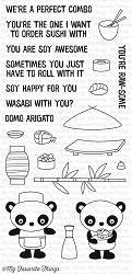 My Favorite Things - Clear Stamp - Sushi Date