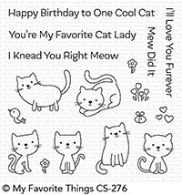 My Favorite Things - Clear Stamp - Love You Furever