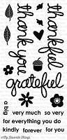 My Favorite Things - Clear Stamp - DC Thankful Thoughts