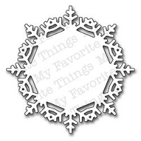My Favorite Things - Die-namics - Snowflake Doily