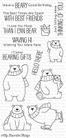 My Favorite Things - Clear Stamp - BB Polar Bear Pals