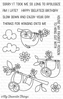 My Favorite Things - Clear Stamp - Sweet Sloths