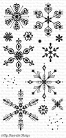My Favorite Things - Clear Stamp - Simply Snowflakes