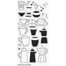 My Favorite Things - Clear Stamp - Coffee Date
