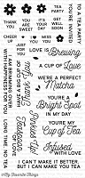 My Favorite Things - Clear Stamp - LLD Cup of Tea