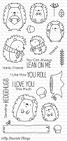 My Favorite Things - Clear Stamp - Happy Hedgehogs