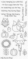 My Favorite Things - Clear Stamp - Fall Friends