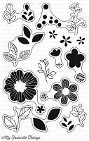 My Favorite Things - Clear Stamp - Bold Blooms