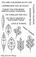 My Favorite Things - Clear Stamp - Geometric Greenery