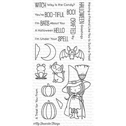 My Favorite Things - Clear Stamp - BB Witch Way Is the Candy?