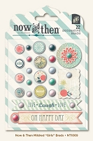 My Mind's Eye - Now and Then Collection by Jen Allyson - Mildred  - Girls - Decorative Brad