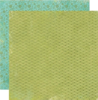 So Sophie Double Sided Paper - Brothers & Sisters Petite Blue Floral
