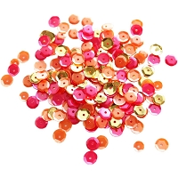Neat & Tangled - Sequins - Sunset Shimmer Mix (4-6-8mm)