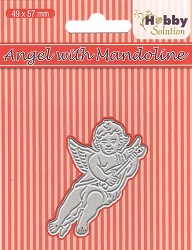 Nellie Snellen's - Hobby Solutions Die - Angel With Mandoline