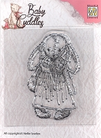 Nellie's Choice - Clear Stamp - Baby Cuddles Cuddly Girl