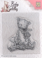 Nellie's Choice - Clear Stamp - Baby Cuddles Teddy Bears