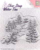 Nellie's Choice - Clear Stamp - Sledge Fun