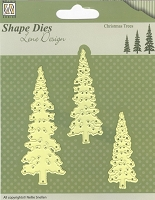 Nellie Snellen's Shape Die - Lene Design Christmas Trees
