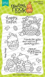 Newton's Nook - Clear Stamp - Newton's Easter Basket