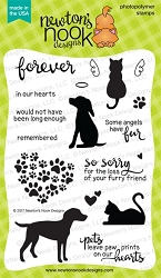 Newton's Nook - Clear Stamp - Furr-ever Friends