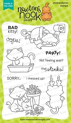 Newton's Nook - Clear Stamp - Naughty Newton