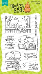 Newton's Nook - Clear Stamp - Newton's Book Club