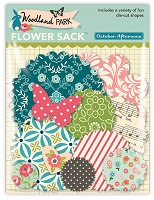 October Afternoon - Woodland Park Collection - Flower Sack Diecut Shapes