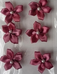 Offray Ribbon Embellishments - Pearl Violet - Col. Rose