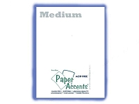 Vellum 8.5x11 - White Medium weight (1 sheet)